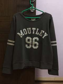 Moutley Grey Sweatshirt