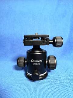 Octopus 2 ways tripod ball head