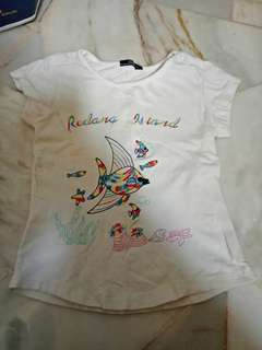 Summer Collection Colourful Fish Girl Blouse Size 2-3Y