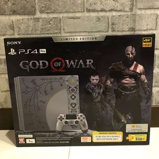 [NEW] PS4 Pro God Of War 4 Limited Edition