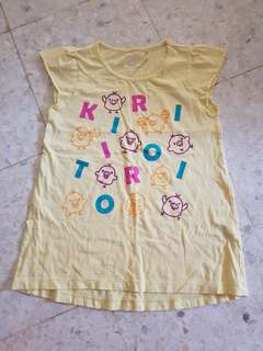 Uniqlo Kids Kiiroitori Top