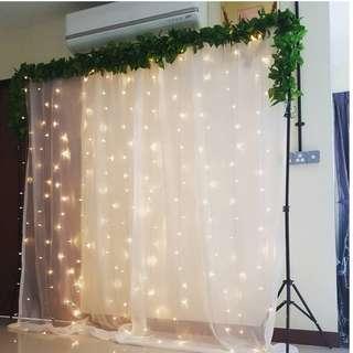 Backdrop Setup & Dessert Table_Birthday_ROM_Wedding / Props Rental Service