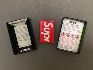 Supreme x Zippo Logo Lighter 打火機