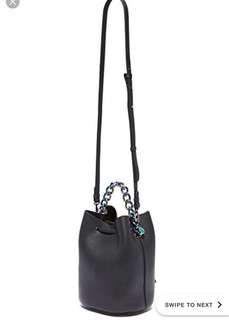 Kendall + Kylie bucket crossbody bag