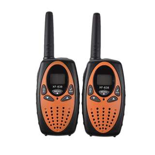 1099. UHF Handheld Walkie-talkie 2 Packs