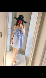 DRESS SIZE S-M ( Panjang 78cm)