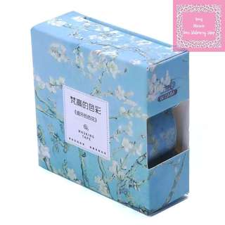 7m Vincent Van Gogh Creative Painting Almond Blossoms Washi Tape