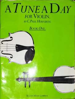 A Tune A Day for Violin, by C.Paul Herfurth