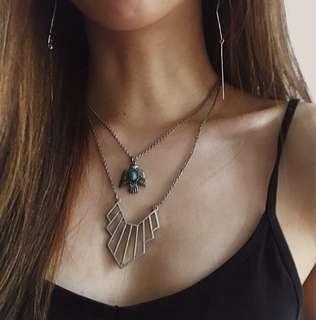 Lovisa Silver Layered Necklaces