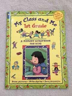 1st Grade Memory Scrapbook