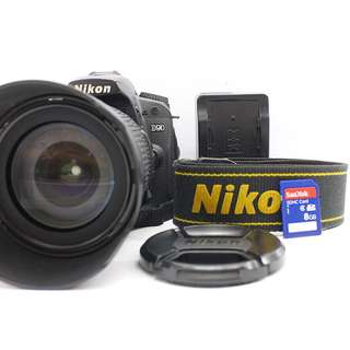 Nikon D90 with 18-105mm kitlens