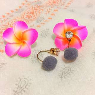 Anting Korea Pom Pom