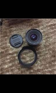 Wide angle lens 12mm f 2.8 fuji x mount