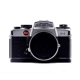 Leica R4 Chrome Film SLR Camera