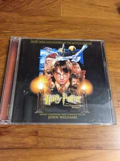 FREE MAILING! Harry Potter and the Philosopher's Stone Official Japan Version Soundtrack CD with bonus contents
