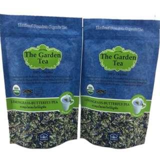 有機香茅蝶豆花茶 - 100% ORANGIC LEMONGRASS BUTTERFLY PEA TEA – USDA