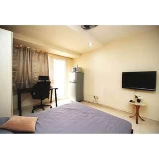 3-6 Mths Short Term Rental - Studio @ East Coast