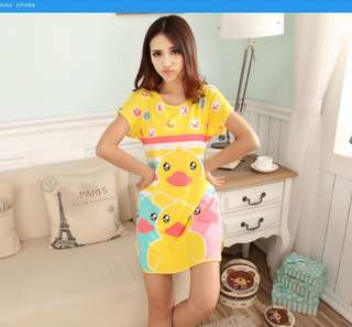 Cartoon Pyjamas Cotton Nightdress More Design