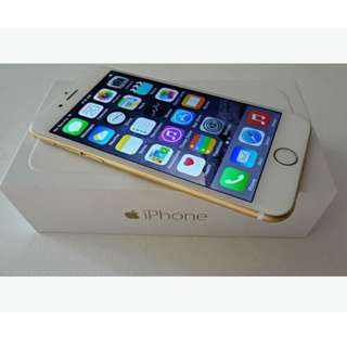 Iphone 6 16 GB Gold Second