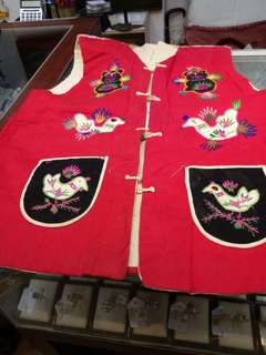 六十年代手縫背心