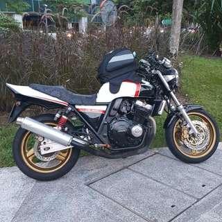 Honda cb400 ver s for rent/sale..