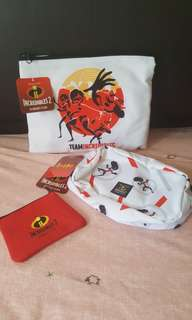 Incredibles 2 (3 in 1 pouch)