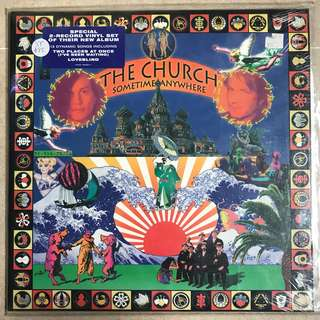 Records vinyl- The Church - Sometime Anywhere 2 record set
