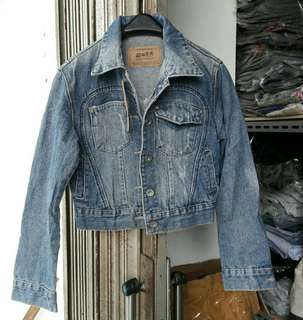 Jaket 21 IMPORT Blazer Fashion Keren Top Kerah Jeans Levis Wanita Cewe Muslimah Cewek