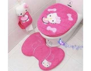 🚚 Hello kitty bathroom set