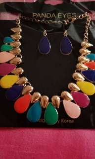 Necklace n earring set