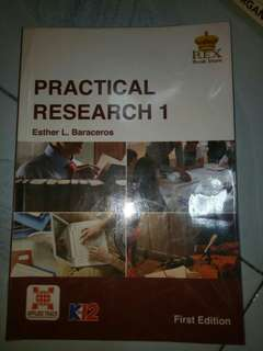 PRACTICAL RESEARCH 1 SHS TEXTBOOK