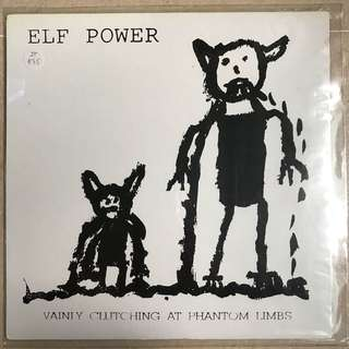 Records Vinyl- Elf Power - great condition-1995 Amputated songs