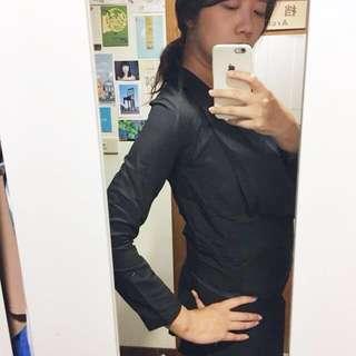 🚚 《姊的時代—正韓》春夏顯瘦氣場黑色西裝薄外套