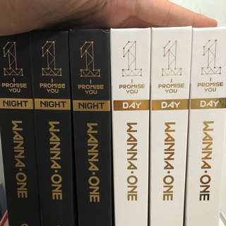 [CLEARANCE] WANNA ONE I PROMISE YOU UNSEALED ALBUMS