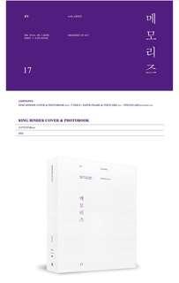 BTS MEMORIES 2017 DVD