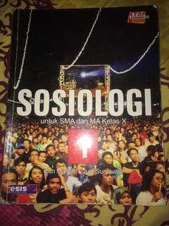 Buku Sosiologi untuk SMA kelas X #kanopixcarousell