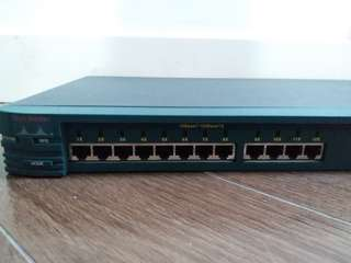 Cisco Catalyst 2900 router 12 ports