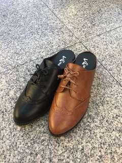 🚚 #女款牛津皮鞋款拖鞋 👉👉2色22/.23.23/.24.24/.25 台灣製造👍👍$390