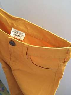 Yellow Mustard Pants/Jeggings