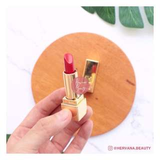 YSL ROUGE PUR COUTURE LIPSTICK - 01 LE ROUGE DELUXE  [PRELOVED 90% NEW]