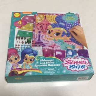 Shimmer & Shine Sparkle Mosaics Activity Set (Brand New)