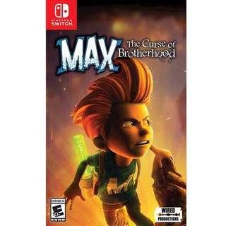 Nintendo Switch Max The Curse Of Brotherhood