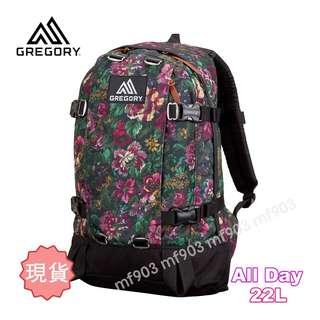 最平 美國戶外品牌 Gregory All Day 22L Garden Tapestry Classic Backpack 經典背包 綠花背囊 限量書包 行貨