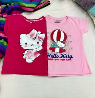 Take 2 Hello Kitty Pink T-Shirt for Girls