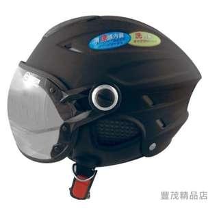🚚 GP-5 024 素面/W造型/飛行鏡/半罩式/安全/雪帽 夏季清涼首選【豐茂】