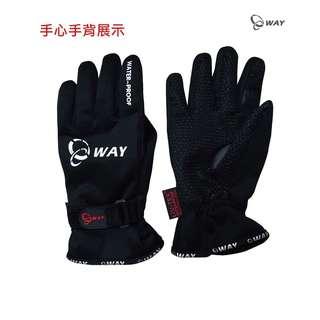 🚚 5℃ WAY 防水 防寒 防風 潛水布 手套 JYG-003 尺寸:S、M、L、XL