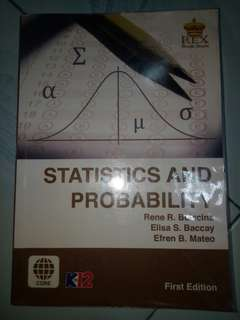 STATISTICS AND PROBABILITY SHS TEXTBOOK