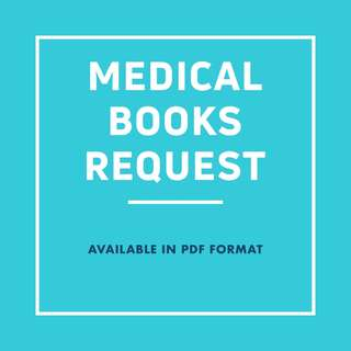 MEDICAL BOOKS REQUEST (pdf)