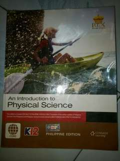 AN INTRODUCTION TO PHYSICAL SCIENCE SHS TEXTBOOK
