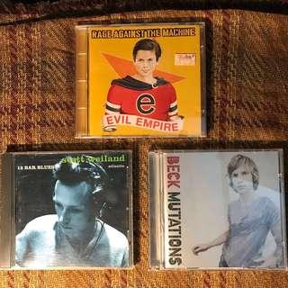 Beck - Mutations,Rage Against The Machine,Scott Weiland CD